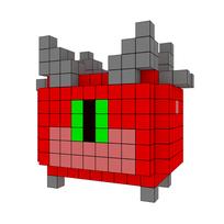 Moxel - Voxel - Doom - Cacodemon