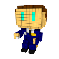 Moxel - Voxel - Captain Koons