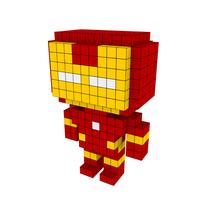 Moxel - Voxel - Iron Man
