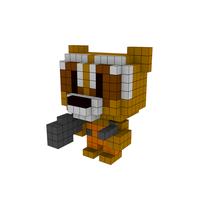 Moxel - Voxel - Rocket Raccoon