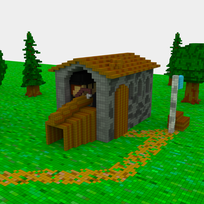 Moxel - Voxel - Settlers - Woodworker