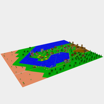 Moxel - Voxel - Settlers - The Settlers
