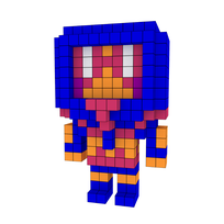 Moxel - Voxel - Man-E-Faces - Human
