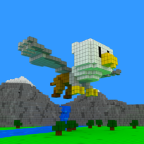 Moxel - Voxel - Greif - Griffin