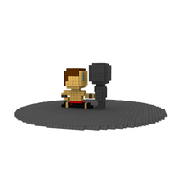 Moxel - Voxel - Johnny Cage - Nut Cracker