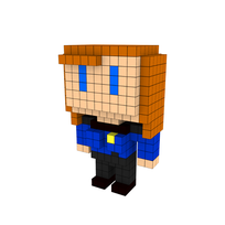 Moxel - Voxel - Beverly Crusher