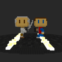 Moxel - Voxel - Time Travellers