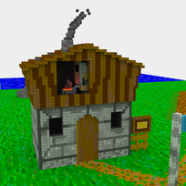 Moxel - Voxel - Settlers - Caster