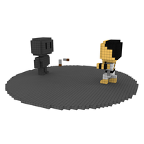 Moxel - Voxel - Kano - Knife Throw