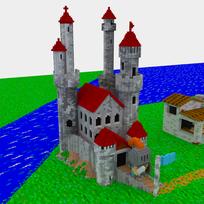 Moxel - Voxel - Settlers - Captain - Castle