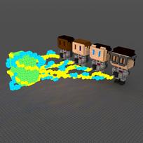 Moxel - Voxel - Ghostbusters