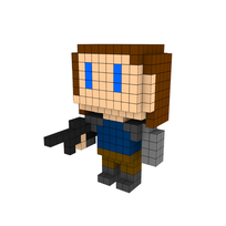 Moxel - Voxel - Winter Soldier