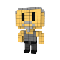 Moxel - Voxel - One Punch Man - Tanktop Jungle