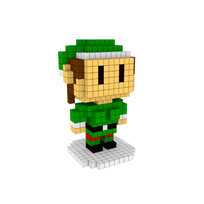 Moxel - Voxel - Weihnachtself - Christmas Elf