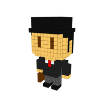 Moxel - Voxel - John Cleese - Flying Circus - Mr.Teabag - Ministry of Silly Walks