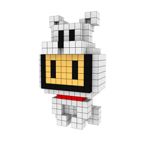Moxel - Voxel - One Punch Man - Watchdog Man