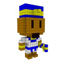 Moxel - Voxel - Ramses II