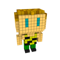Moxel - Voxel - One Punch Man - Tanktop Tiger
