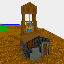 Moxel - Voxel - Settlers - Miner