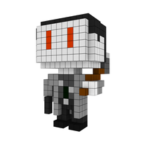 Moxel - Voxel - One Punch Man - Zombieman