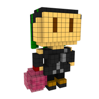 Moxel - Voxel - The Bowler