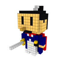 Moxel - Voxel - One Punch Man - Atomic Samurai