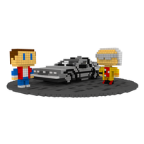 Moxel - Voxel - Delorean