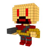 Moxel - Voxel - Doom - Heavy Weapon Dude