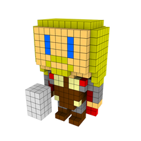 Moxel - Voxel - Thor