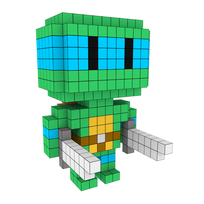 Moxel - Voxel - Leonardo