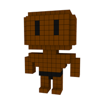 Moxel - Voxel - One Punch Man - Superalloy Darkshine