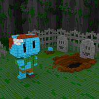 Moxel - Voxel - Zombie
