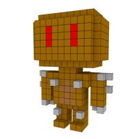 Moxel - Voxel - Doom - Imp