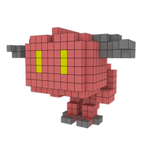 Moxel - Voxel - Doom - Demon
