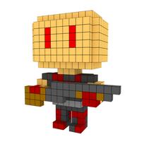 Moxel - Voxel - Doom - Shotgun Guy