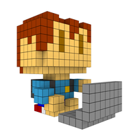 Moxel - Voxel - One Punch Man - Child Emperor
