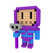 Moxel - Voxel - Skeletor