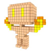 Moxel - Voxel - Doom - Arch-Vile