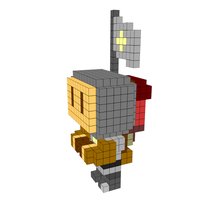 Moxel - Voxel - Terry Gilliam - Holy Grail - Patsy