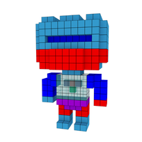 Moxel - Voxel - Roboto