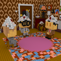 Moxel - Voxel - Do it yourself Mr. Bean