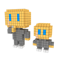 Moxel - Voxel - Doctor Evil & Mini Me