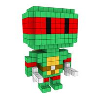 Moxel - Voxel - Raphael