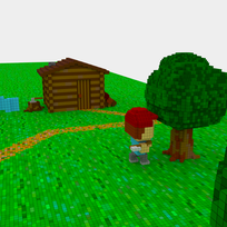 Moxel - Voxel - Settlers - Lumberjack