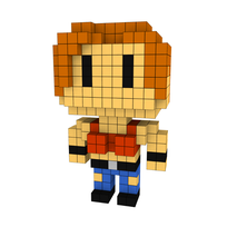 Moxel - Voxel - One Punch Man - Tanktop Girl