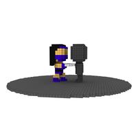 Moxel - Voxel - Kitana - Fan Swipe