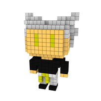 Moxel - Voxel - One Punch Man - Garou