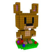 Moxel - Voxel - Osterhase
