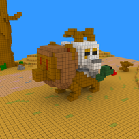 Moxel - Voxel - Chimäre - Chimera