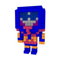 Moxel - Voxel - Man-E-Faces - Robot